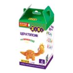 Набор воздушного пластилина для детского творчества ZiBi Цератопсик 6 стиков Kids Line (ZB.6258)