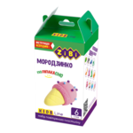 Набор воздушного пластилина для детского творчества ZiBi Мородзинко 6 стиков Kids Line (ZB.6269)