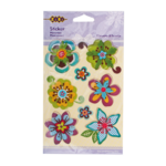 Наклейки ZiBi многоярусные Flowers&Hearts, 11*15см, KIDS Line (ZB.63923-AB)