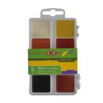 Краски акварельные ZiBi ZB.6519, 8 цветов