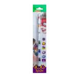 Карандаши ZiBi для грима лица и тела ПОЗИТИВ, 6 цветов стандарт, 22 гр, KIDS LINE (ZB.6569)