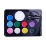 Краски ZiBi для грима лица и тела КРЕАТИВ, 9 цветов стандарт, 105 г, KIDS Line (ZB.6570)