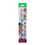 Карандаши ZiBi для грима лица и тела НЕОН ПОЗИТИВ, 6 цветов неон, 22 гр, KIDS LINE (ZB.6571)