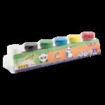 Краски гуашевые ZiBi Kids Line, 6 цветов по 20мл (ZB.6657)
