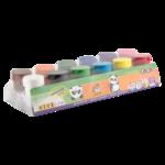 Краски гуашевые ZiBi Kids Line, 12 цветов по 20мл (ZB.6658)