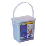 Мел цветной Zibi Jumbo, комплект из 12шт, в ведре (ZB.6715-99)