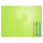 Досточка для пластилина ZiBi ZB.6910-15, 3 стека, салатовый