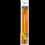 Кисть ZiBi Smart Line плоская из пони №6 (ZB.6942PF-6b)