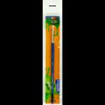 Кисть ZiBi Smart Line плоская из щетины №7 (ZB.6944BF-7b)