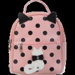 Рюкзак ZiBi PUSSY CAT, 24x21x9,5 см, розовый (декор: кот с подвижным хвостом) (ZB.702304)