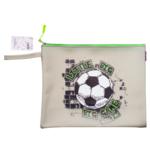 Папка для тетрадей ZiBi Football А4 силиконовая на молнии (ZB.705525)