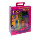Набор подарочный ZiBi для детского творчества 13 предметов Розовый (ZB.9920-10)