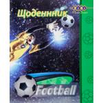 Дневник школьный ZiBi Football, А5, 40л, мягк. обл., скоба, УФ-лак (ZB17.13107)