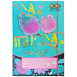 Папка для труда ZiBi Art Effect Spring Melody, А4+, картонная, на резинке (ZB17.14903)