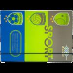 Папка для тетрадей ZiBi Sport, B5+, картонная, на резинке (ZB17.14951)