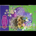 Папка для тетрадей ZiBi Love You, B5+, картонная, на резинке (ZB17.14954)
