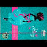 Папка для тетрадей ZiBi Princess, B5+, картонная, на резинке (ZB17.14956)