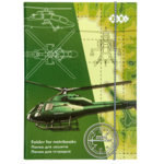 Папка для тетрадей ZiBi Helicopter, B5+, картонная, на резинке (ZB17.14957)