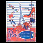 Папка для тетрадей ZiBi Paris, B5+, картонная, на резинке (ZB17.14962)