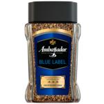 Кофе растворимый Ambassador Blue Label, сткл.б. 190г*8 (7612) (am.51170)