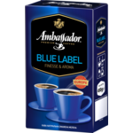 Кофе молотый Ambassador Blue Label, вак.уп. 450г*12 (am.52209)