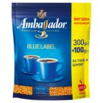 Кофе растворимый Ambassador Blue Label, пакет 400*10 (am.52503)