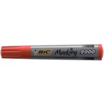 Маркер перманентный BiC на спиртовой основе 1,7 мм Красный (bc8209133)