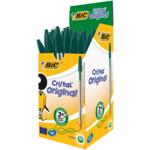 Ручка Bic Cristal зелёная (bc8373629)
