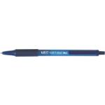 Ручка шариковая автоматическая BiC Soft Clic Grip с грипом Синяя (bc8373982)