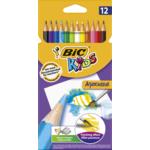 Карандаши цветные Bic Evolution Aquacouleur 12 шт (bc8575614)