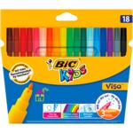 Фломастеры Bic Kids Visa 880 18 цветов (bc888681)