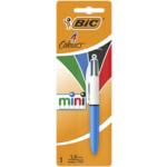 Ручка Bic 4 in 1 Colours Mini голубая (bc895956)