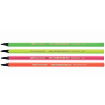 Карандаш чернографитный BiC Evolution Fluo НВ 2 мм без ластика (bc940757)