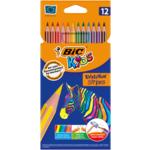 Карандаши цветные Bic Evolution Stripers 12 шт (bc9505221)