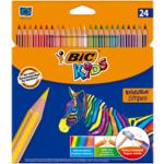 Карандаши цветные Bic Evolution Stripes 24 шт (bc950525)