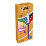 Ручка Bic 4 in 1 Colours Shine Purple фиолетовая (bc951351)