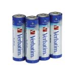 Батарейка Verbatim LR06 AA, 4 шт