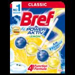 Блок очистительный Bref Сила Актив 4 в1 Лимонная свежесть 50 г (bf.25289)