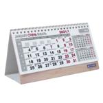 Календарь настольный Buromax Standard на 2021 г. 210х100 мм на пружине (BM.2100)