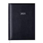 Ежедневник датированный 2022 Buromax BASE (Miradur) А5 L2U черный 336 с (BM.2108-01)