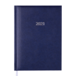 Ежедневник датированный 2022 Buromax BASE (Miradur) А5 L2U синий 336 с (BM.2108-02)