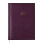 Ежедневник датированный 2021 Buromax Base (Miradur) А5 336 с. L2U Бордовый (BM.2108-13)