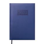 Ежедневник датированный 2022 Buromax GENTLE А5 синий 336 с (BM.2109-02)