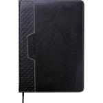 Ежедневник датированный 2022 Buromax VIENNA А5 L2U черный 336 с (BM.2111-01)