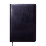 Ежедневник датированный 2021 Buromax Bravo (Soft) А5 с обложкой из искусственной кожи 336 с. L2U Черный (BM.2112-01)