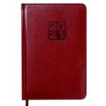 Ежедневник датированный 2021 Buromax Bravo (Soft) А5 с обложкой из искусственной кожи 336 с. L2U Коричневый (BM.2112-25)