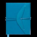Ежедневник датированный 2021 Buromax Bella с обложкой из искусственной кожи А5 336 с. Бирюзовый (BM.2132-06)