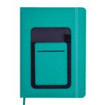 Ежедневник датированный 2021 Buromax Combi А5 с обложкой из искусственной кожи 336 с. L2U Зеленый (BM.2191-04)