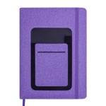 Ежедневник датированный 2021 Buromax Combi А5 с обложкой из искусственной кожи 336 с. L2U Фиолетовый (BM.2191-07)