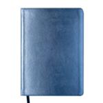 Ежедневник недатированный Buromax Metallic А6 с обложкой из искусственной кожи 288 с. Синий (BM.2613-02)